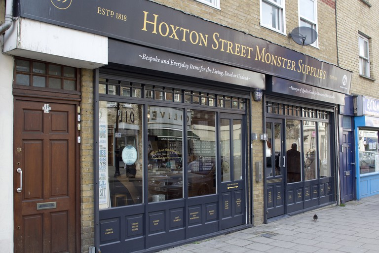 Hoxton Street Monster Supplies is 'London's, and quite possibly the world's, only purveyor of quality goods for monsters of every kind'