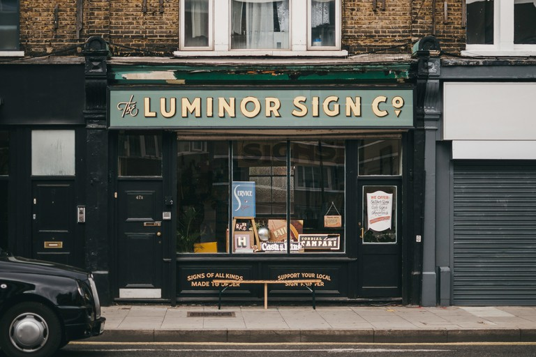 The Luminor Sign Co. offers hand-lettered design, signwriting and gold leaf