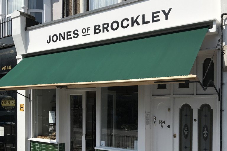 Jones of Brockley is packed with fruit and vegetables