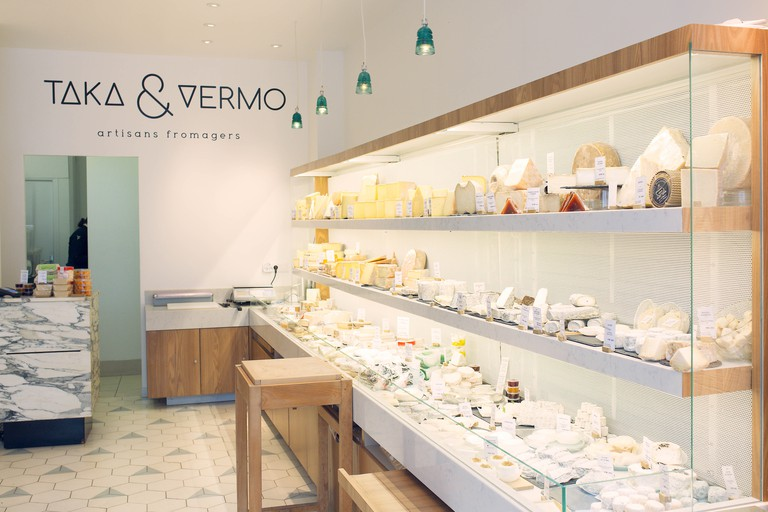 Taka & Vermo is a fromagerie that's from traditional in its outlook