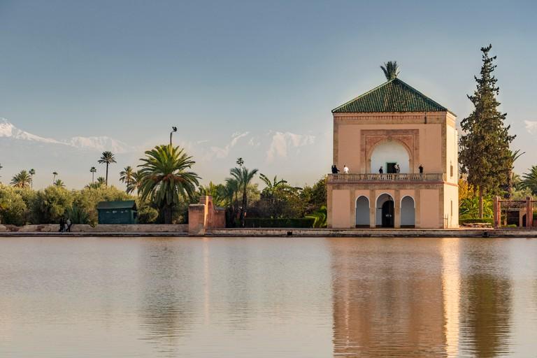 Menara Gardens in Marrakesh