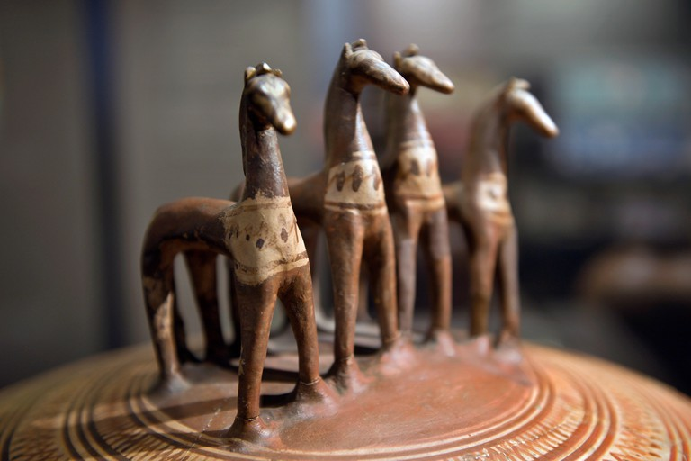 Spend the day wandering around the Museum of Cycladic Art