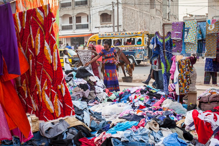 Tilene market, Dakar, Senegal