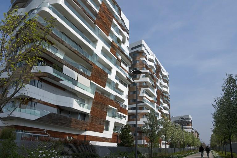 CityLife Residences (Zaha Hadid Residences), Milan, Italy