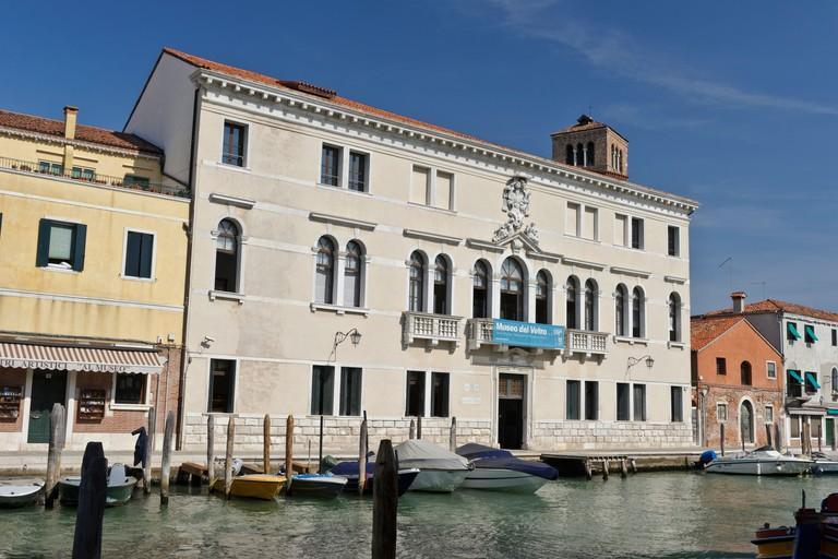 Murano Glass Museum, Murano, Venice, Italy.