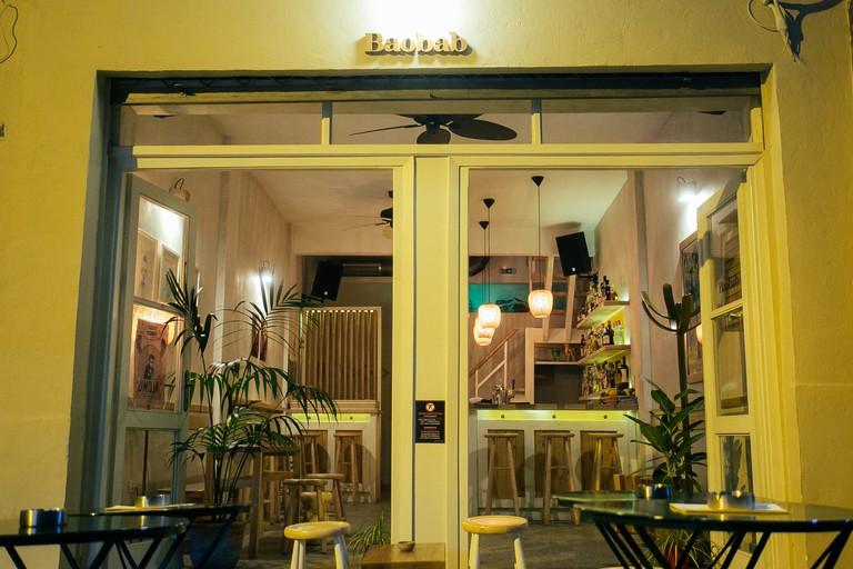 Baobab bar in Thessaloniki