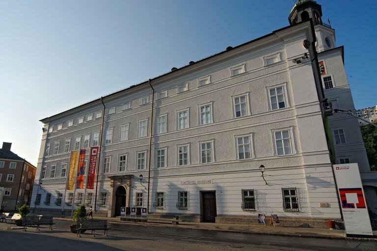 Salzburg Museum Located in Neue Residenz