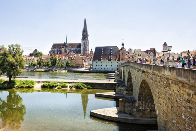 Old Town of Regensburg with Stadtamhof