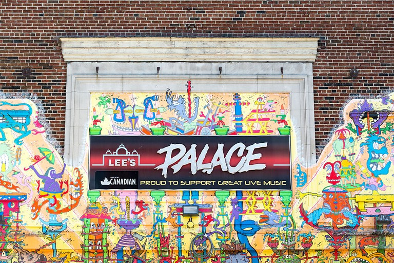 Lee's palace rock Concert hall on Bloor street, Toronto