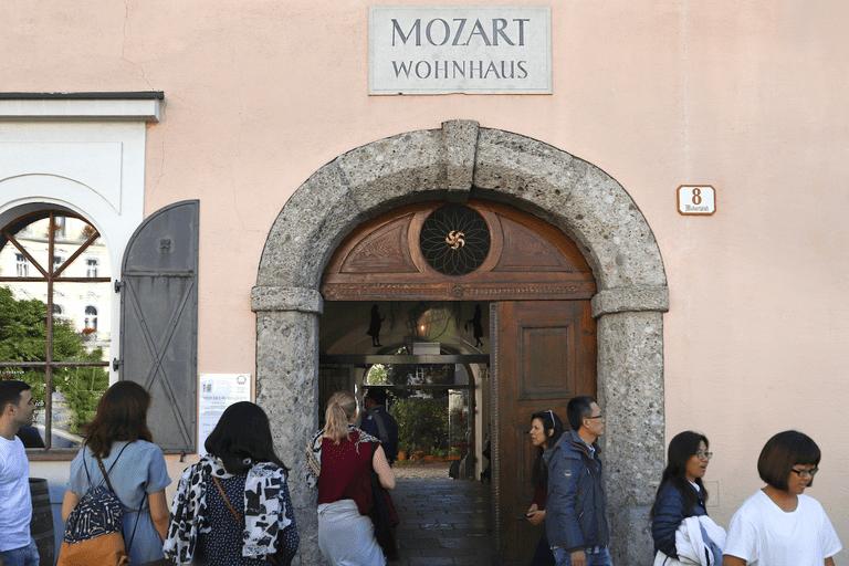 Mozart Residence museum