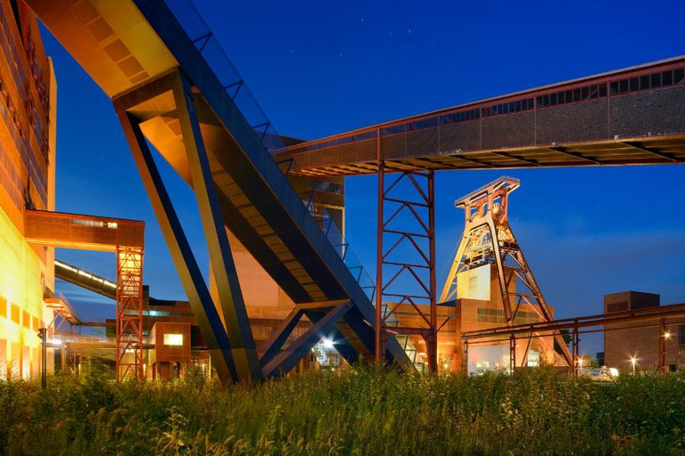 Coal was mined at Zollverein for 135 years before it was decommissioned in 1986