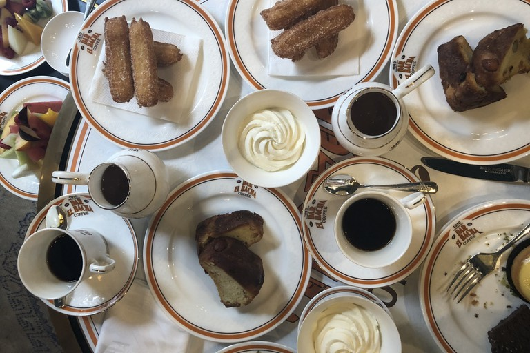 Bacha Coffee is renowned for its orange blossom churros