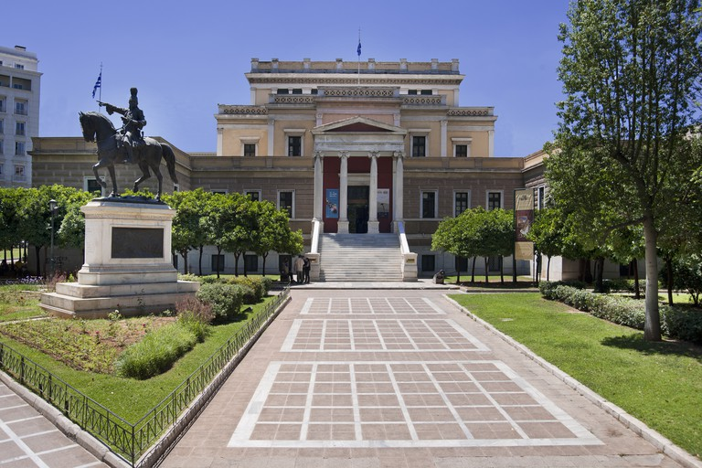 The National Historical Museum is situated in the former Greek parliament building
