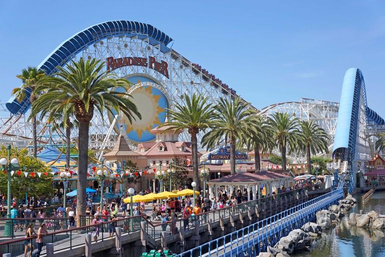 Disneyland Paradise Pier, California Adventure Park, Anaheim California