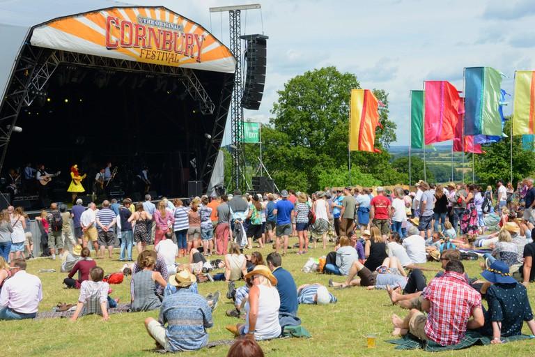 Cornbury Festival, Oxfordshire.