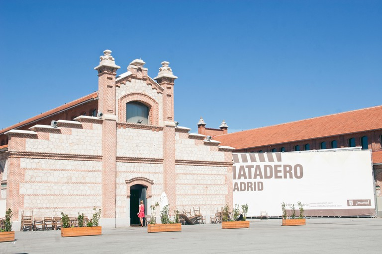 El Matadero contemporary art center housed in the old slaughterhouse built in 1910