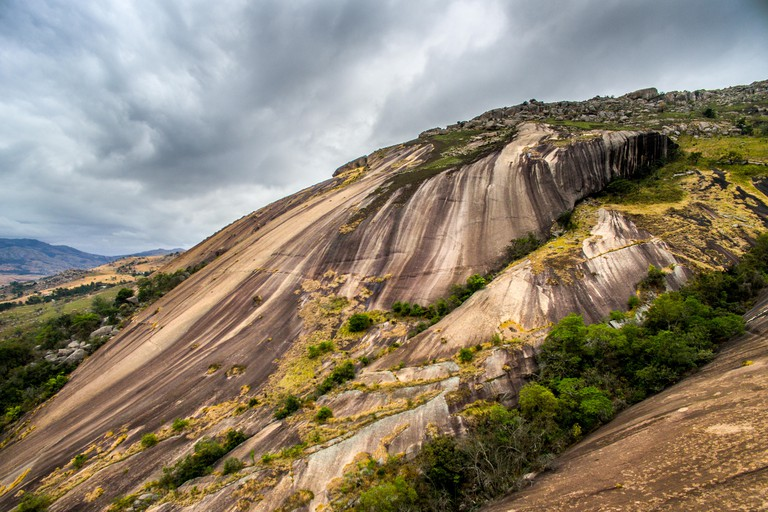 Sibebe Rock in Mbabane in Swaziland, Africa