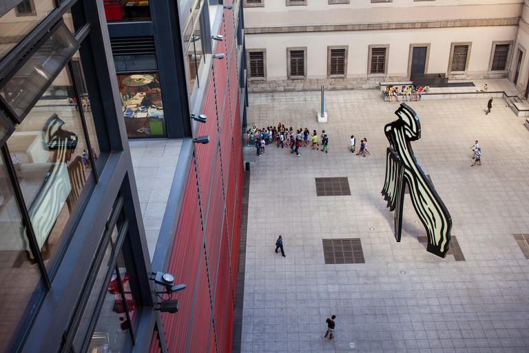 Reina Sofia National Art Museum, Madrid, Spain.