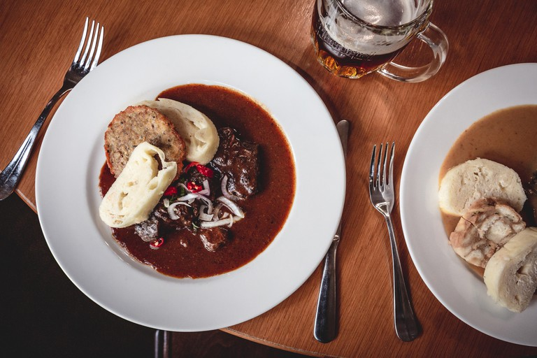 From goulash to dumplings, Prague's diverse food scene is second to none