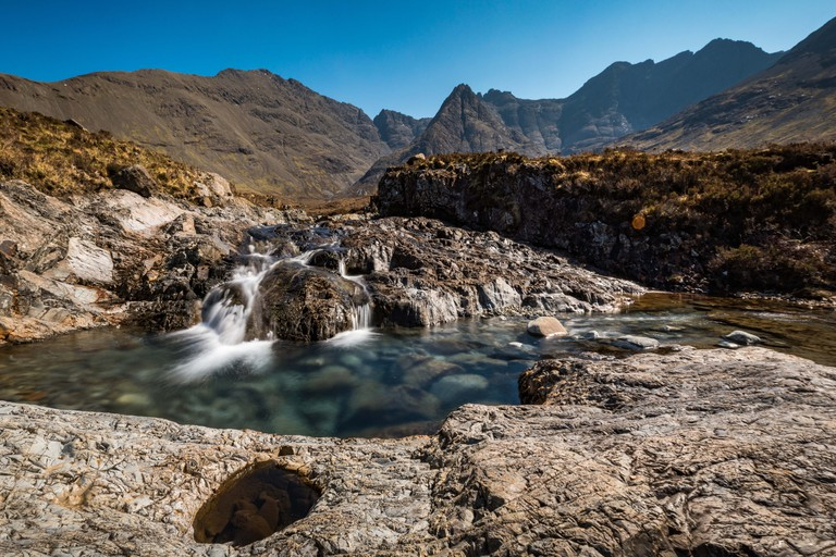 The Fairy Pools in Isle of Skye