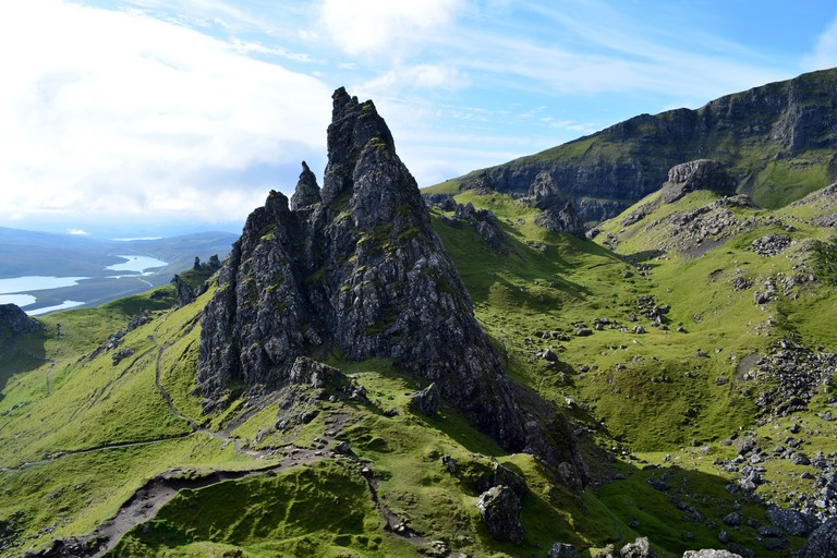 Stunning Views of Old Man of Storr in Scotland