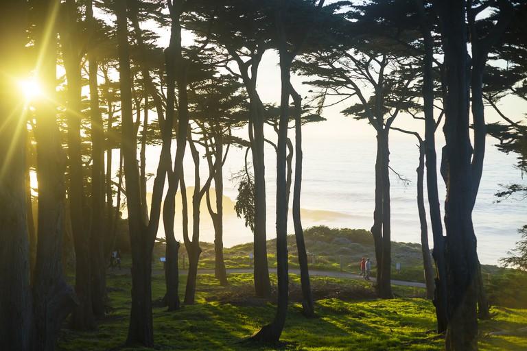 Lands End Sunset, San Francisco, CA