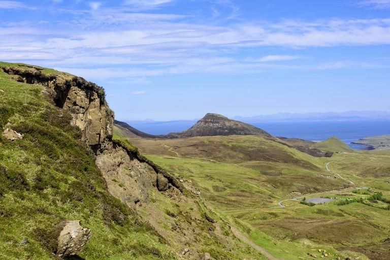 The Quiraing in the Isle of Skye, Scotland
