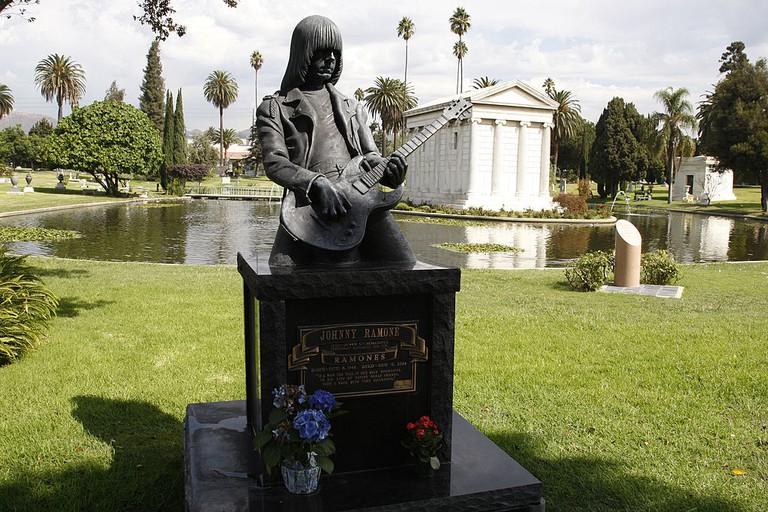 Johnny Ramone's Grave