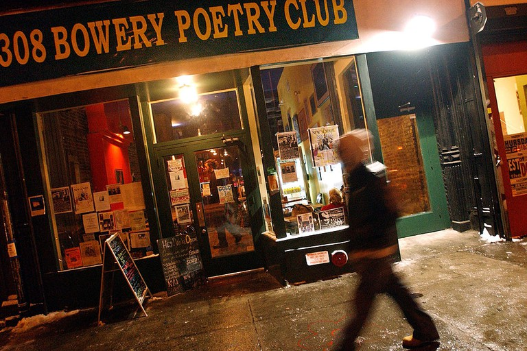 Poetry Slam At The Bowery Poetry Club