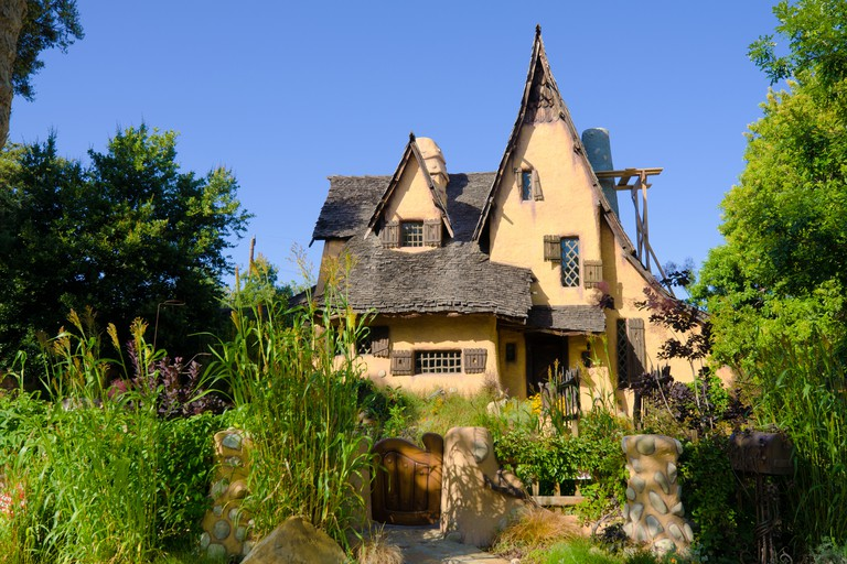 The Spadena House, also known as The Witch's House, built in 1921.