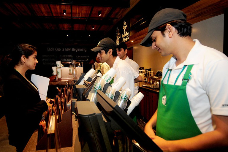 StarBucks Coffee Opens First outlet In Delhi