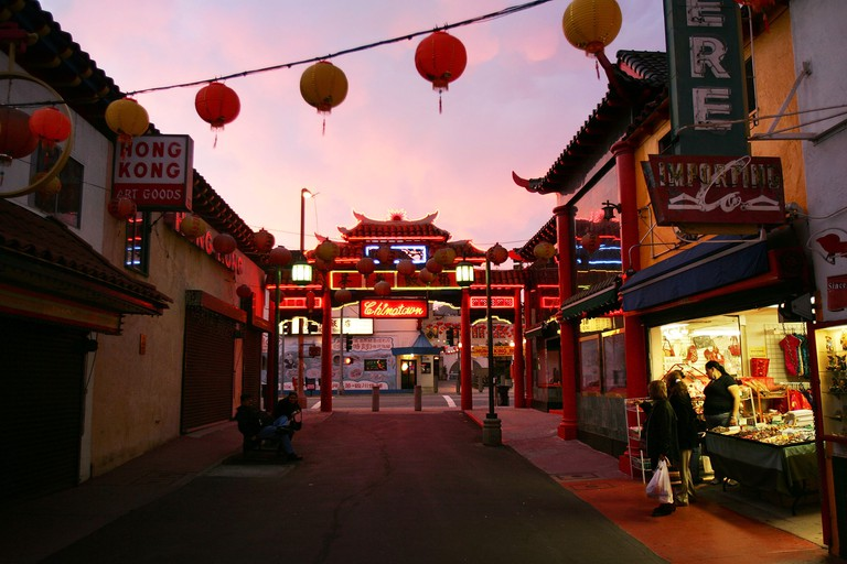 A wide range of cultures have settled in the city from around the world.