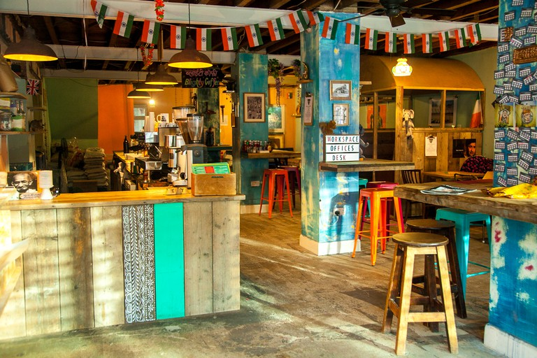 Blighty Cafe is a community-focussed café on Blackstock Road