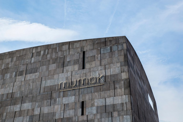 In the MuseumsQuartier you'll find the cool, concrete-clad MUMOK
