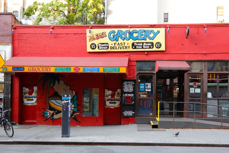 Monday nights at Arlene's Grocery feature punk and heavy-metal live band karaoke