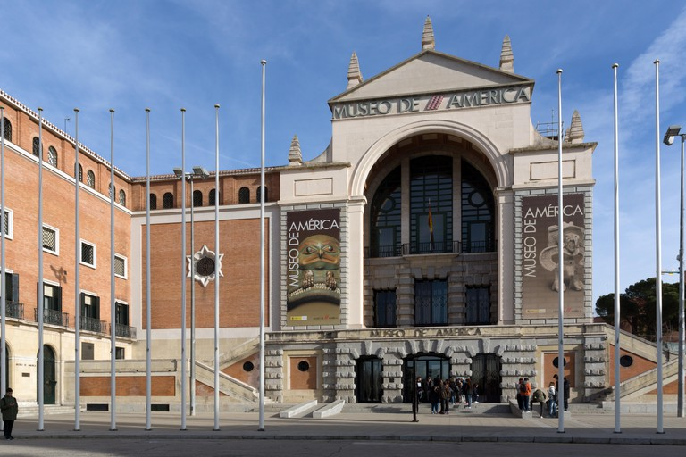Museum of the Americas at Moncloa District in City of Madrid, Spain