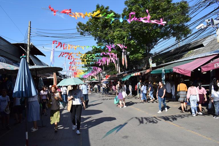 Chatuchak Wochenend Markt Bangkok