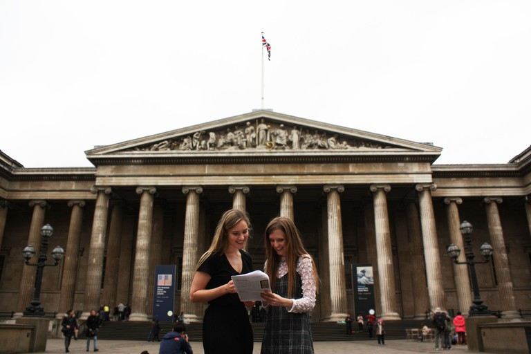 Visit the British Museum to learn about the history of humanity
