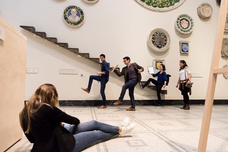 Team Building in the Medieval Galleries