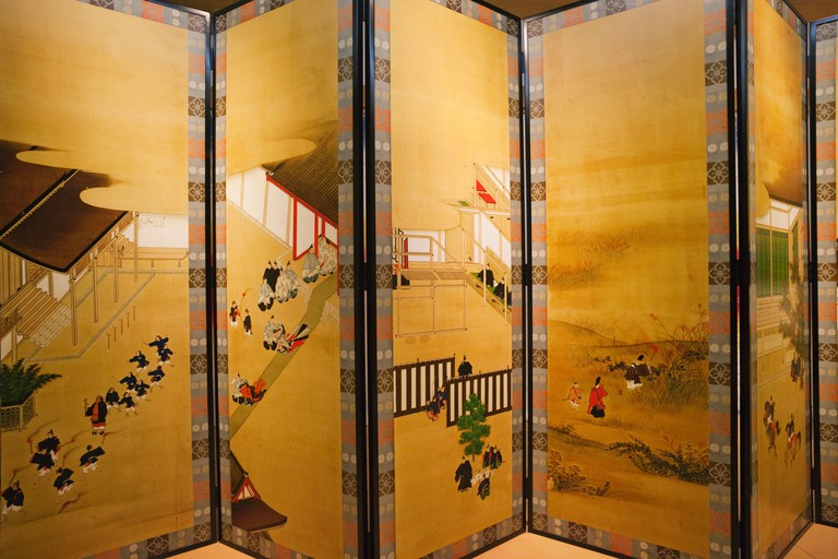 The Tale of Genji museum, Japan.