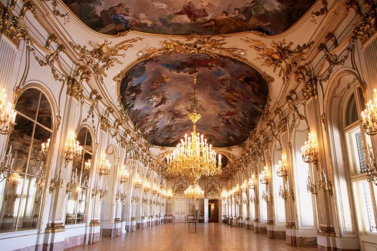 Schonbrunn Palace. Vienna. Austria