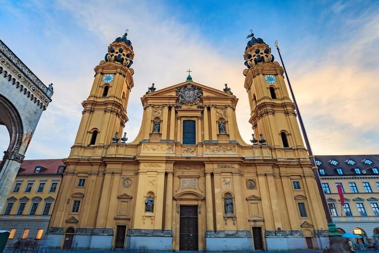 Theatine Church - Munich - Germany