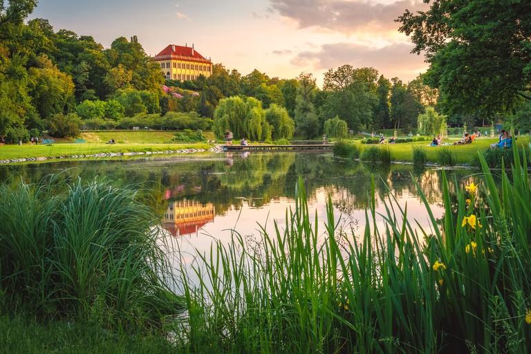 Romantic Stromovka Park