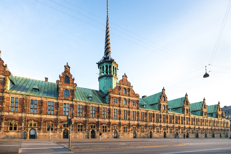 Old Stock Exchange (Borsen) in Copenhagen, Denmark