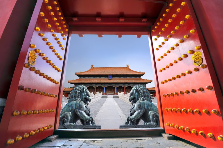 The Forbidden City in Beijing - China