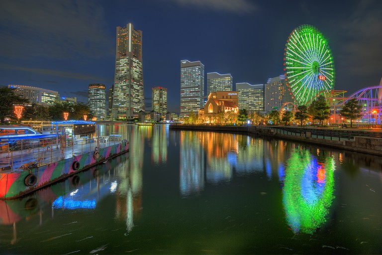Yokohama City Skyline