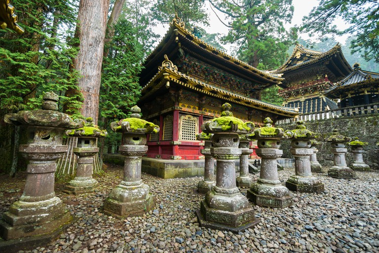 The Rinzo and Drum Tower of Toshogu Shrine, Nikko, Japan