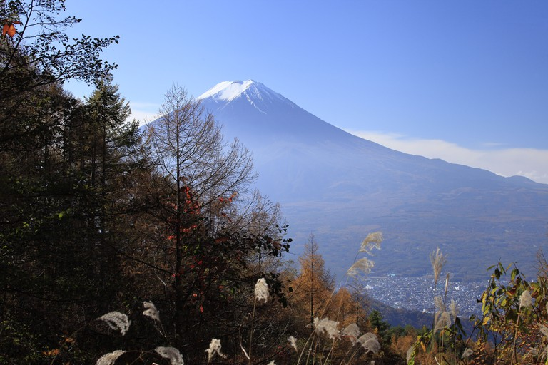 View of Mt.Fuji from Mitsutoge
