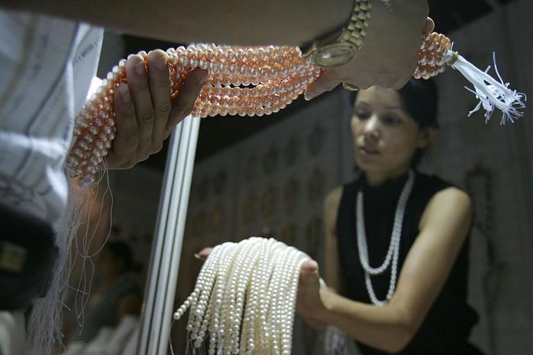 Beijing Pearl market