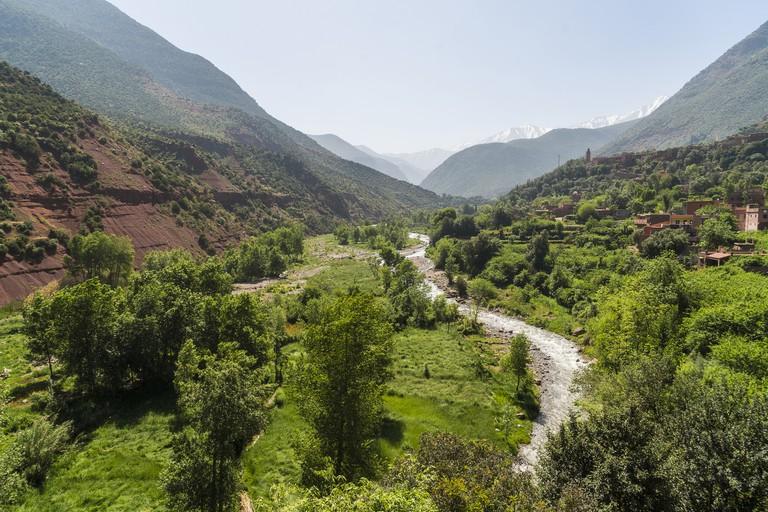 Morocco, Atlas mountains, Ourika Valley